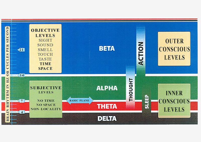 Hjernebølger sådan: Alfa, Beta, Theta & Delta
